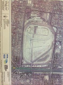 Draft map highlighting Tom's home.