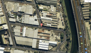 Aerial map via Google.