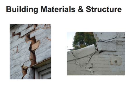 building materials and structure